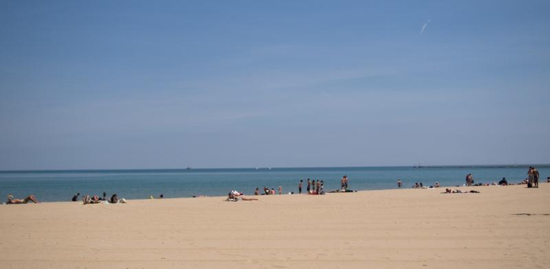playa Oak Street Beach de Chicago 1