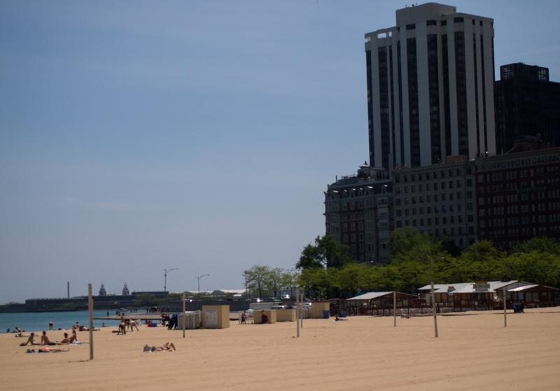 playa Oak Street Beach de Chicago 2