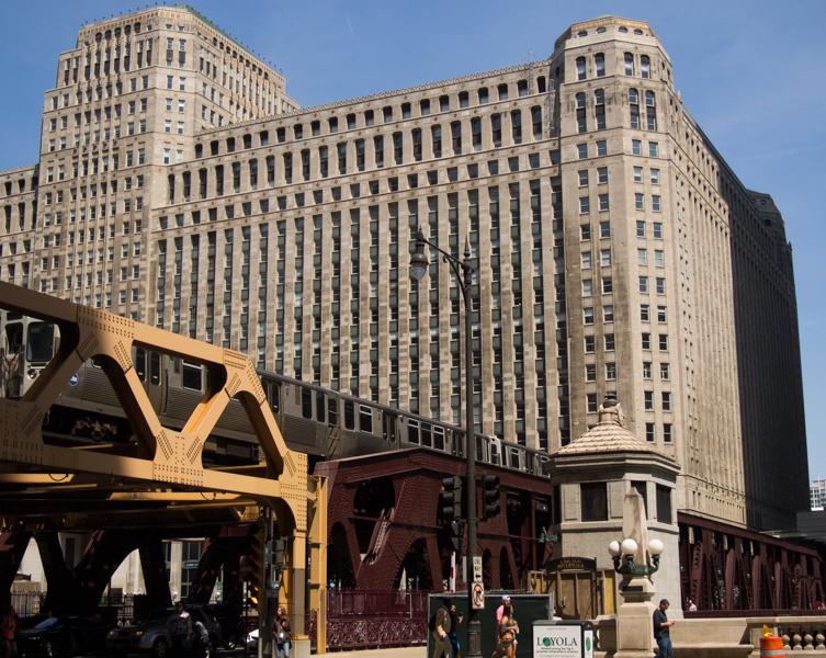 tren elevado de Chicago 1