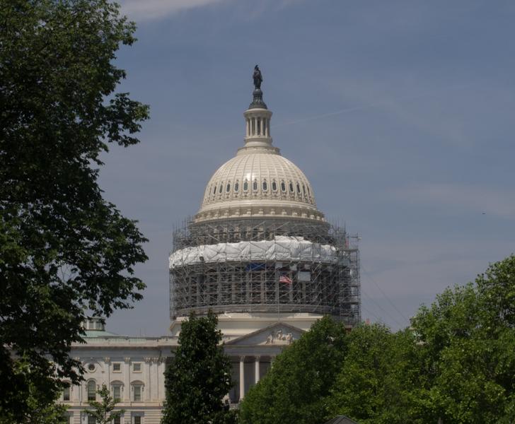 cúpula del Capitolo de Estados Unidos en Washington DC