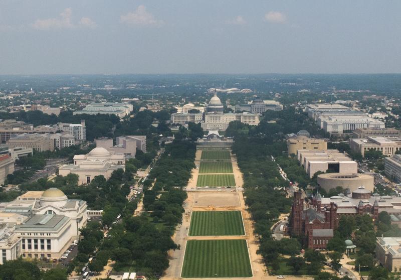 vistas desde el Monumento a Washington 1