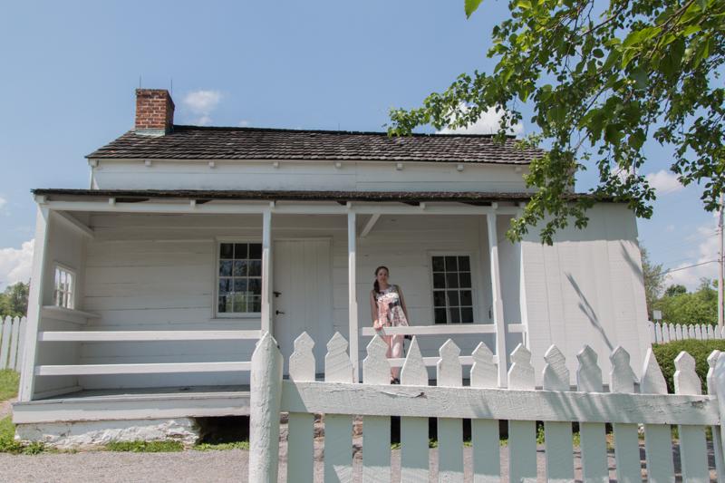 Lidia en Lydia's House del campo de batalla de Gettysburg Pensilvania