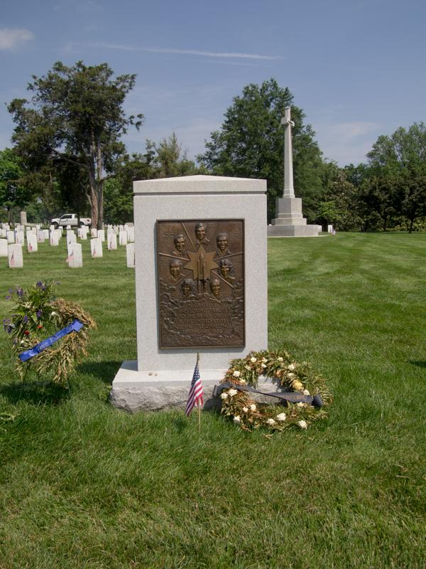 Challenger Memorial en el Cementerio de Arlington en Washington DC
