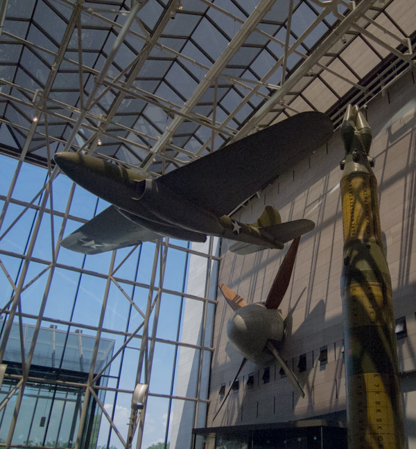 aviones en el Smithsonian Air & Space Museum de Washington DC 2
