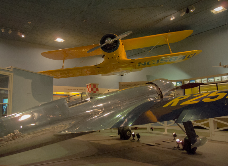 aviones en el Smithsonian Air & Space Museum de Washington DC 1