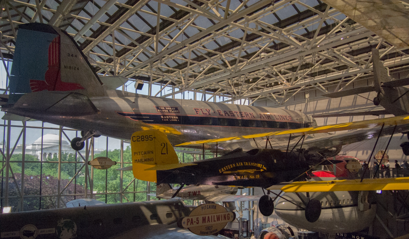 aviones en el Smithsonian Air & Space Museum de Washington DC 3
