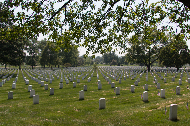 tumbas del Cementerio de Arlington Washington 3