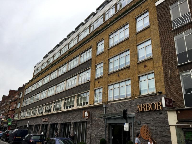 Arbor City Hotel Londres - fachada