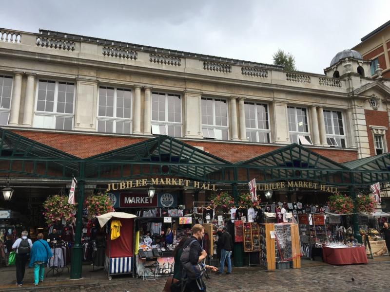 Jubilee Market en el Covent Garden Londres
