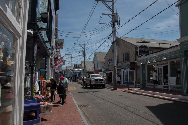 calle de Provincetown en Cape Cod Massachussets 1