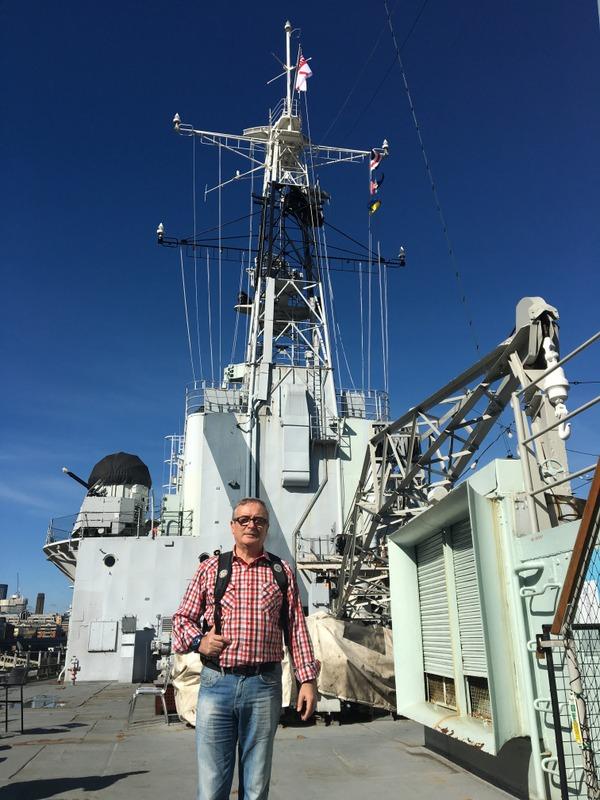 dentro del HMS Belfast 1