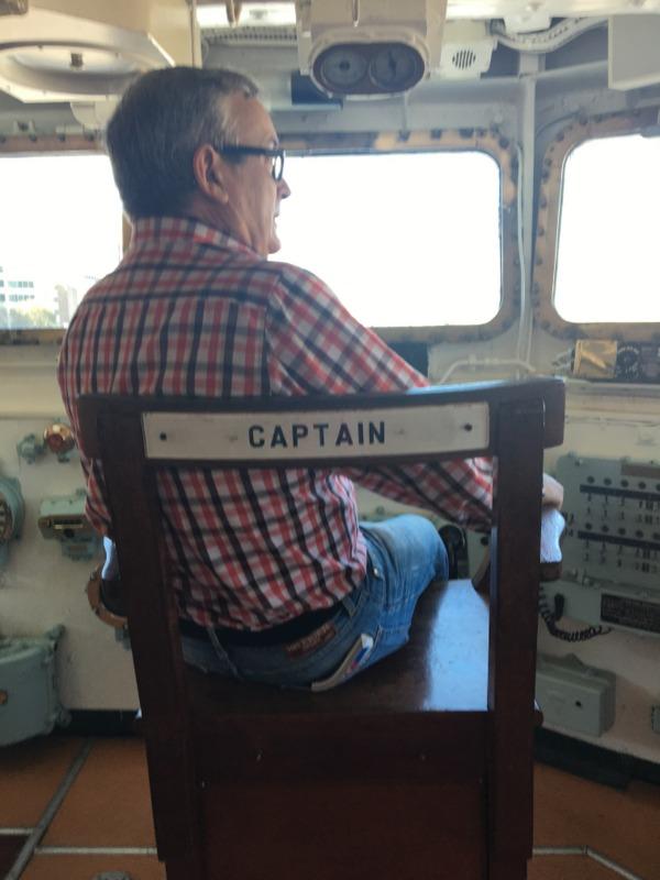 dentro del HMS Belfast 2