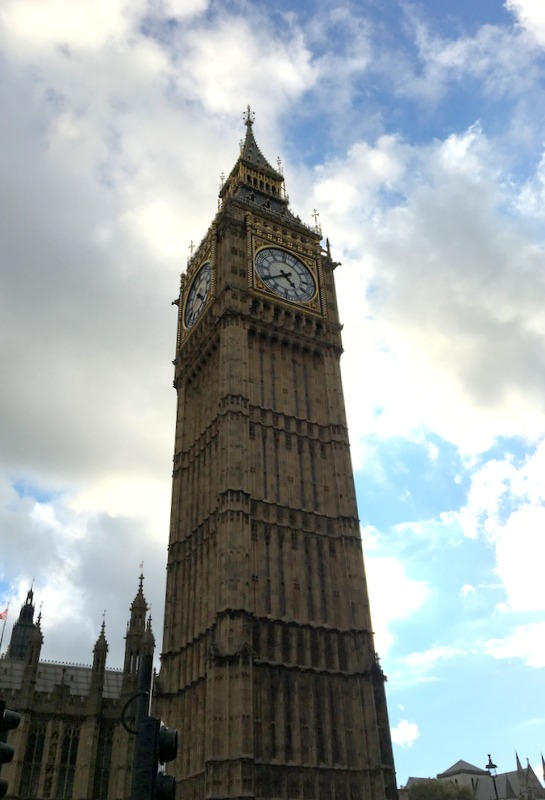 el Big Ben de Londres
