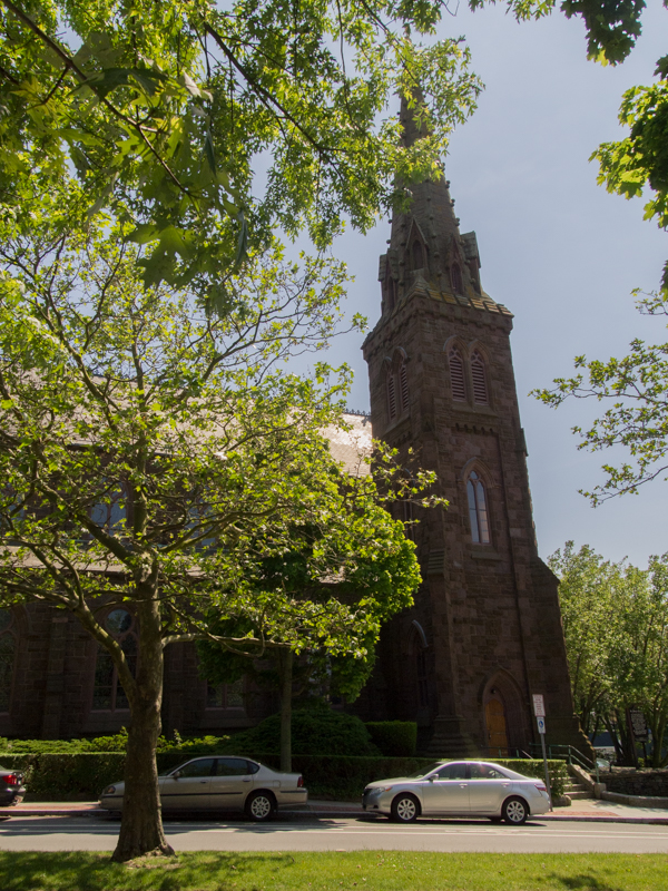 Iglesia de Santa María en Newport Rhode Island