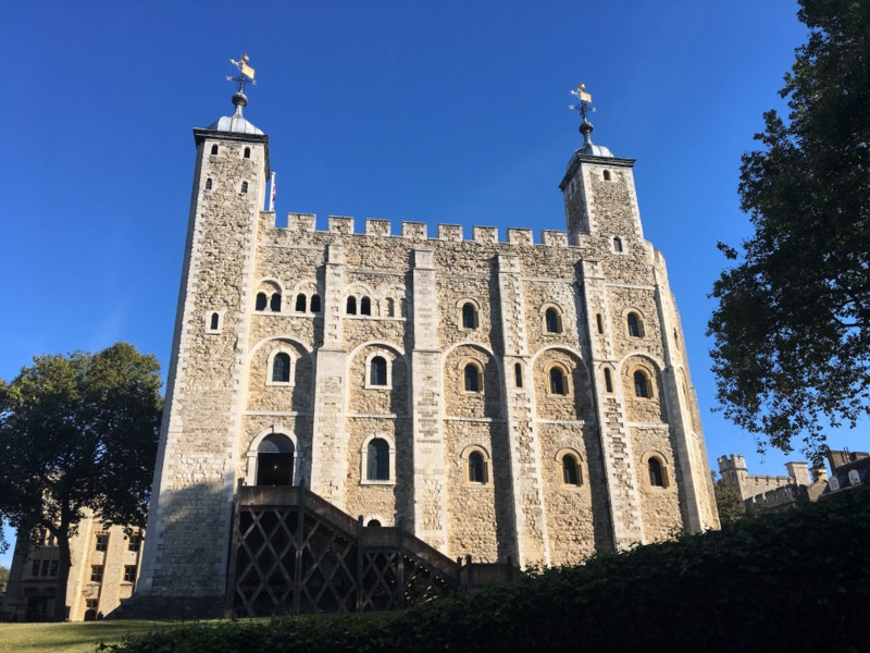 la Torre Blanca de la Torre de Londres