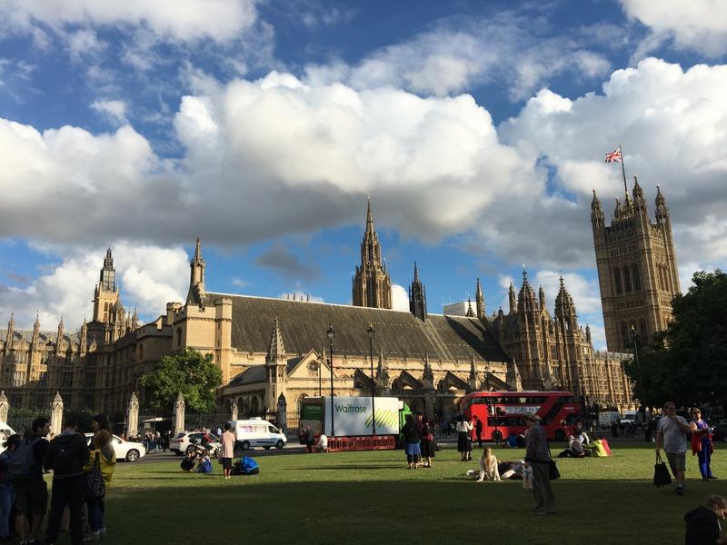 las Casas del Parlamento de Londres