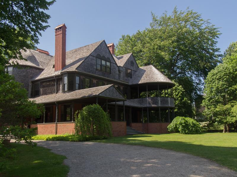 mansion de Bellevue Avenue en Newport Rhode Island 1