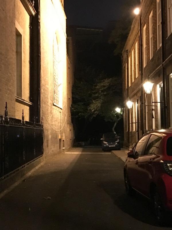 callejón del diablo en Londres
