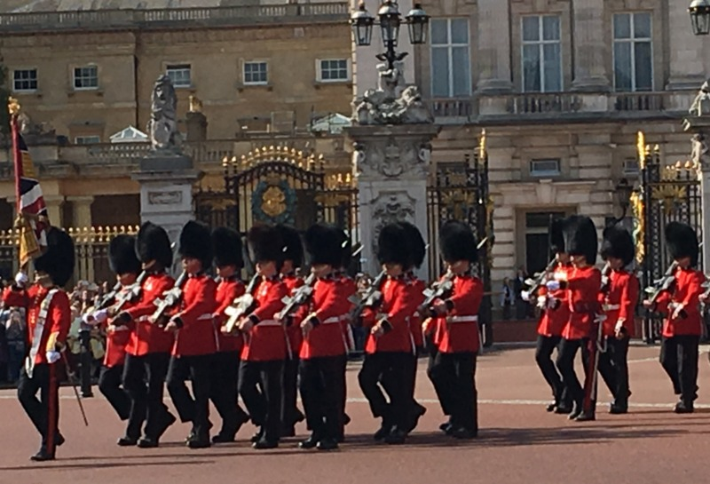 cambio de Guardia en Buckingham Londres 2