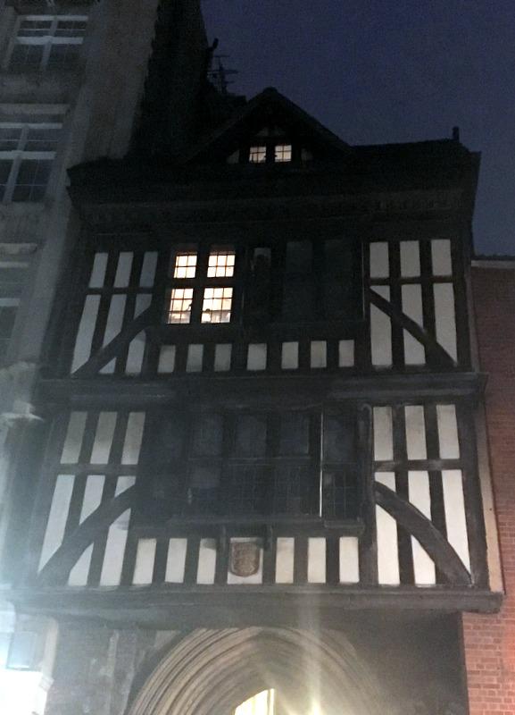 casa rectoral de la iglesia de St. Bartholomew en Londres