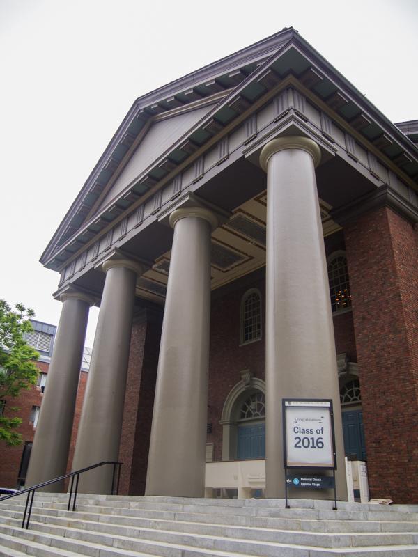Memorial Church en la Universidad de Harvard