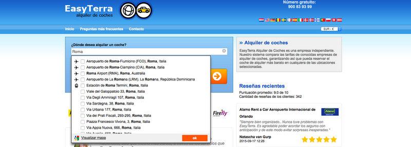 EasyTerra 2 - lugar