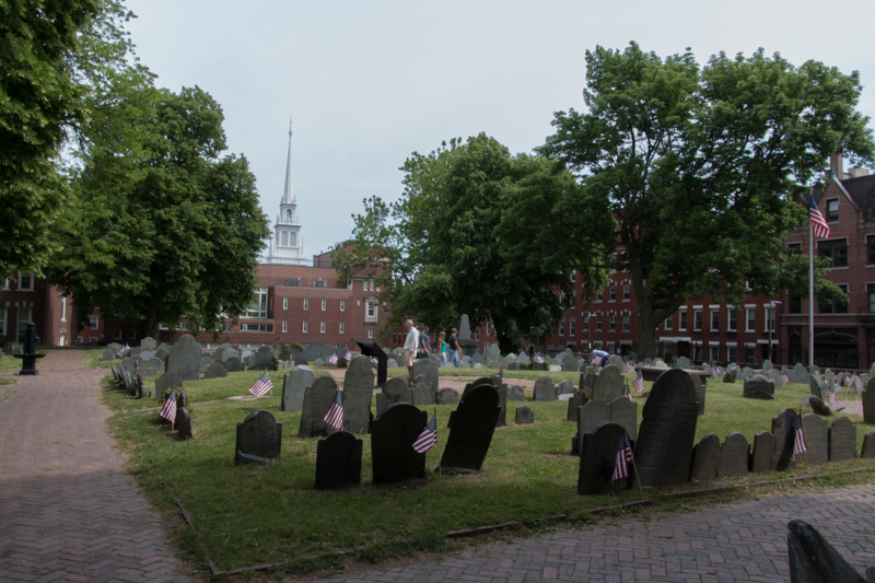 cementerio de Copp's Hill en Boston