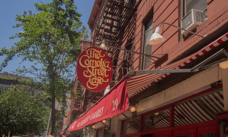 The Cornelia Street Cafe en Nueva York