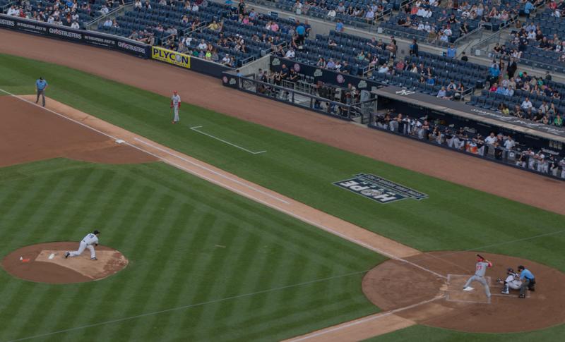 partido de baseball de los Yankees en Nueva York 1