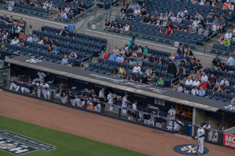partido de baseball de los Yankees en Nueva York 3