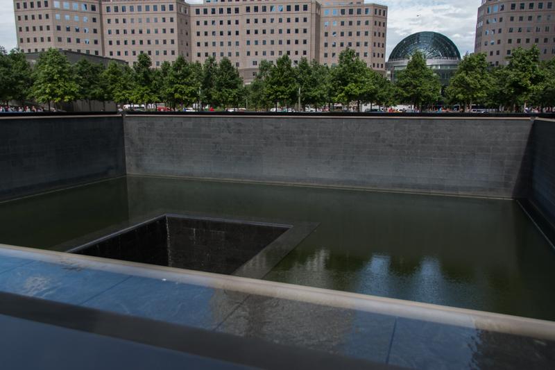 piscina norte del 11S Memorial en Nueva York