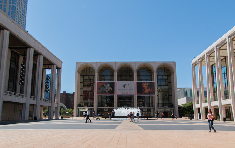 el Lincoln Center de Nueva York
