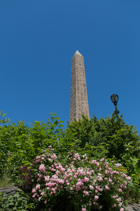 Obelisco del Central Park en Nueva York