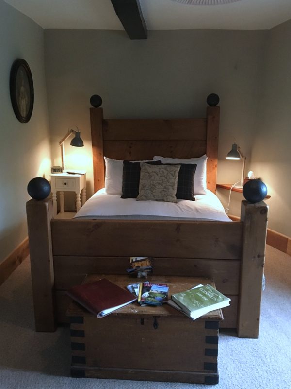 cama del Ebrington Arms en Chipping Campden