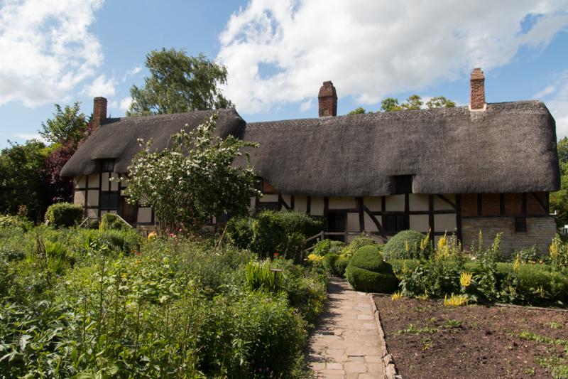 Anne Hathaway's Cottage en Stratford-upon-Avon