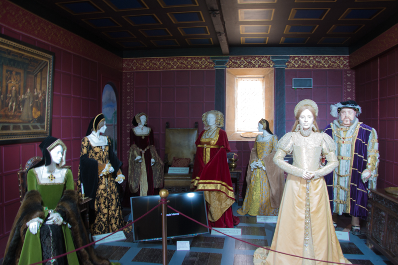 interior del Sudeley Castle