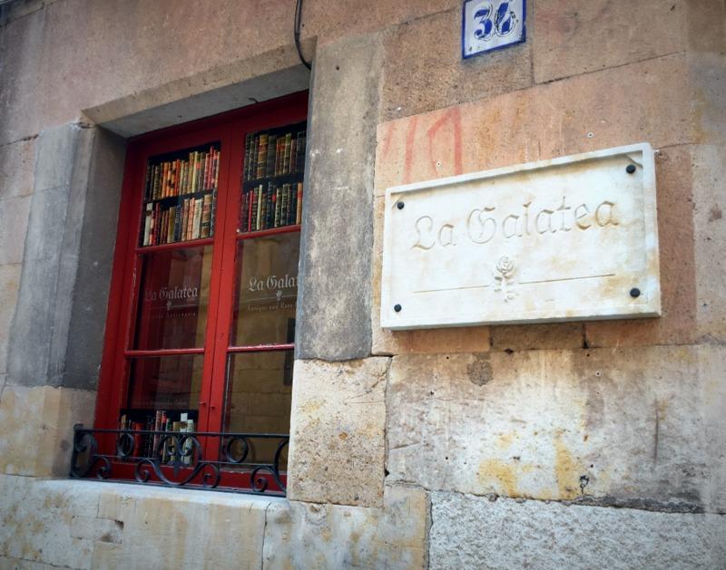 Librería Anticuaria La Galatea en Salamanca