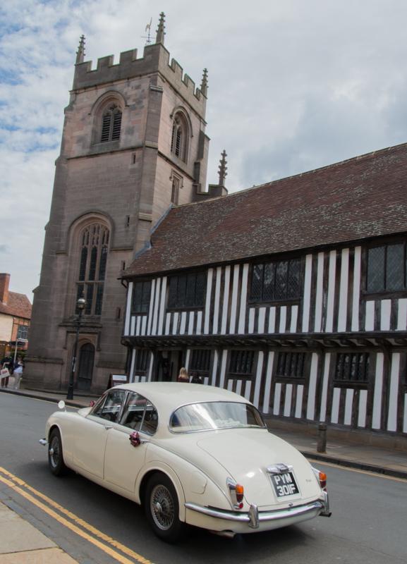 The Guild Chapel y Grammar School en Stratford-upon-Avon