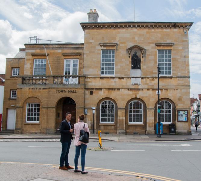 Town Hall en Stratford-upon-Avon