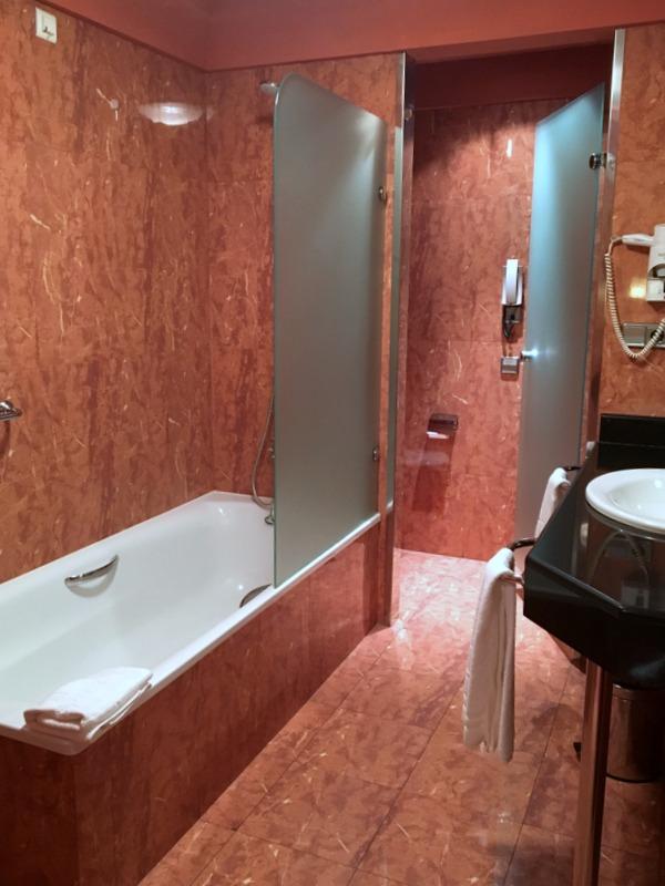 baño hotel Eurostar Las Claras Salamanca