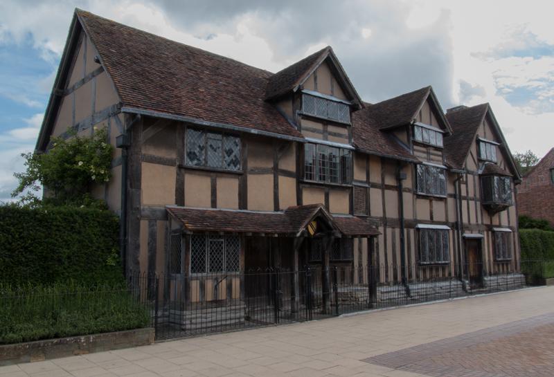 casa natal de William Shakespeare en Stratford-upon-Avon