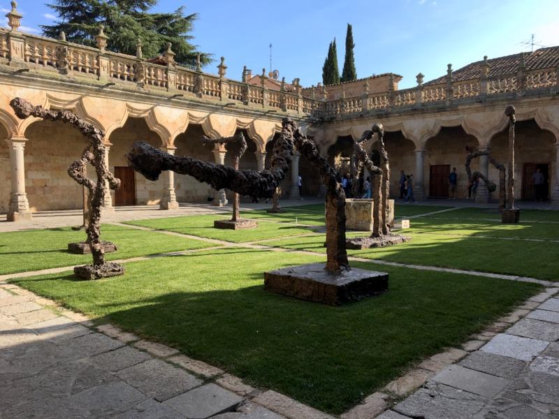 esculturas de Miquel Barceló en Salamanca