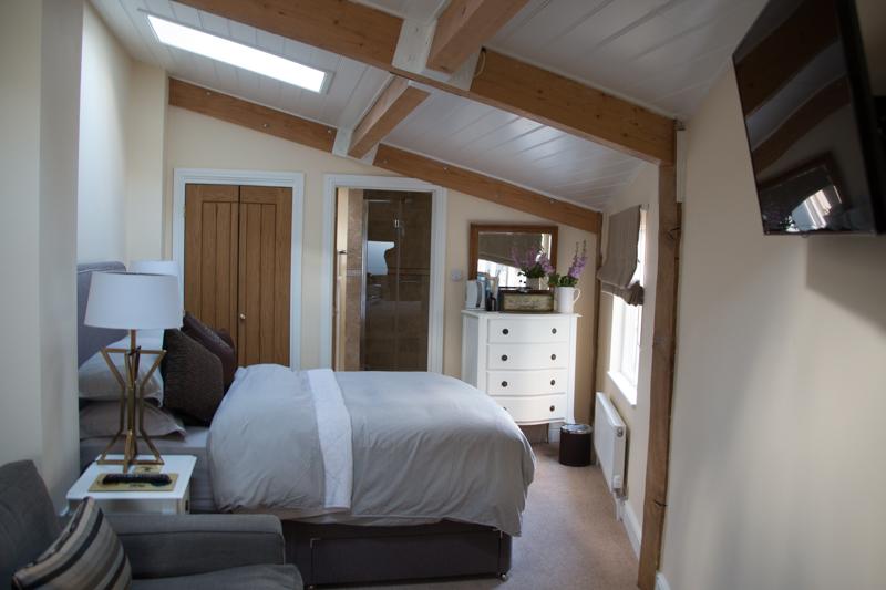 habitación del Bed and Breakfast Croft House Guest Suite