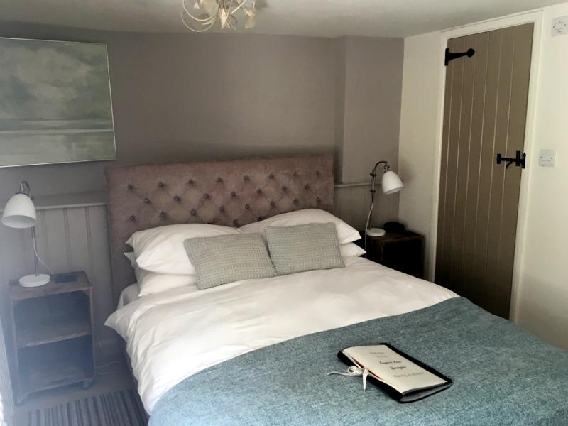habitación del Keepers Arms de Quenington