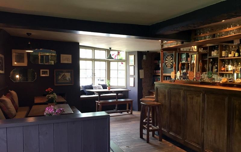 zona del pub del Ebrington Arms en Chipping Campden 3