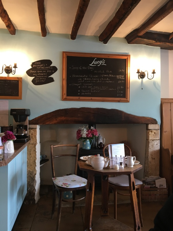 Lucy's Tea Room en Stow-on-the-Wold 3