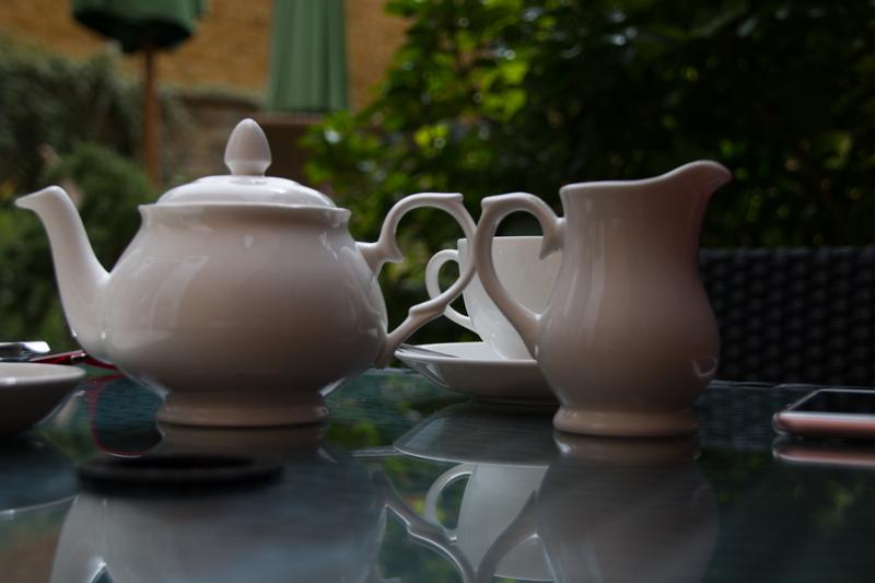 té en Tisanes Tea Room en Broadway