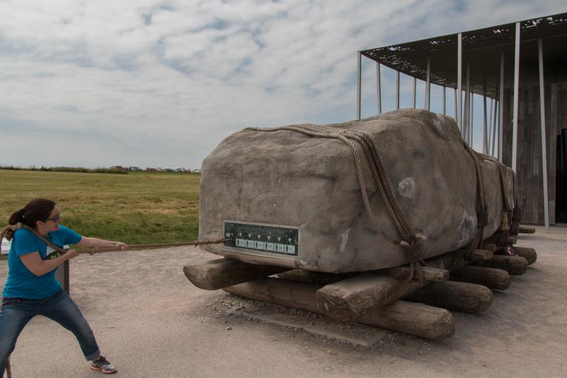 Lidia en Stonehenge