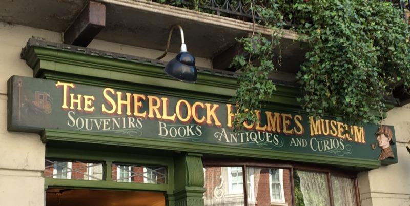 entrada al Sherlock Holmes Museum de Londres