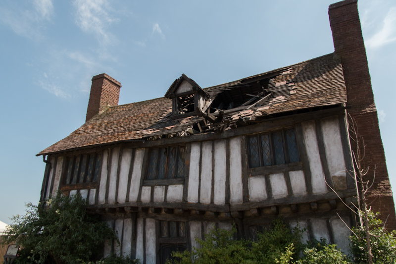 casa de los Potter en Godric's Hollow HP